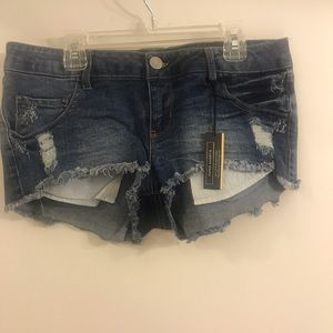 Denim shorts NWT